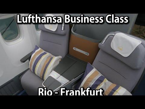 Lufthansa Boeing 747-8 Business Class (Rio de Janeiro - Frankfurt)