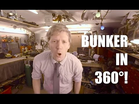 Underground BUNKER Project - 360 Degree Virtual Reality EXPERIENCE