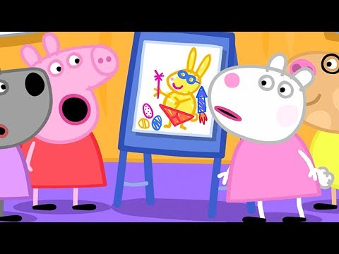 Peppa Pig English Episodes | Peppa Pig and  Bunny 🐰 Peppa Pig Official | 4K
