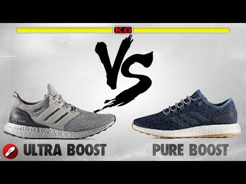 Adidas Ultra Boost 30 vs Pure Boost 2017!