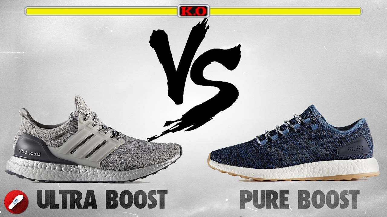 785996b915a53b Adidas Ultra Boost 3.0 vs Pure Boost 2017! - YouTube