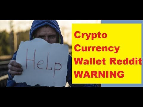 Best Cryptocurrency Wallet Reddit 2018? Crypto Security Warning