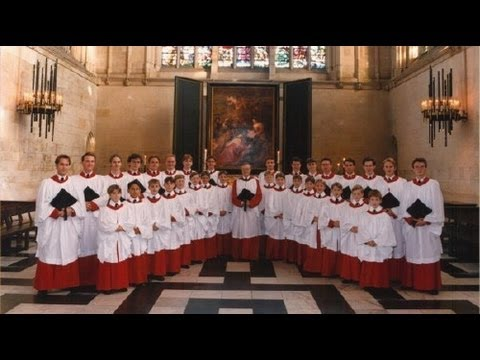 'O Holy Night' : The Choir of Kings College Chapel, Cambridge.