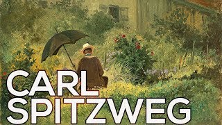 Carl Spitzweg: A collection of 78 paintings (HD)