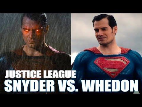 JUSTICE LEAGUE: DIFERENCIAS VERSIÓN ZACK SNYDER VS. JOSS WHEDON