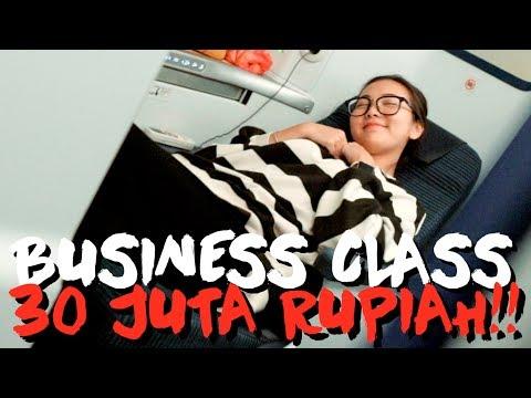 REVIEW BUSINESS CLASS PESAWAT JEPANG 30 JUTA SEKALI TERBANG!!