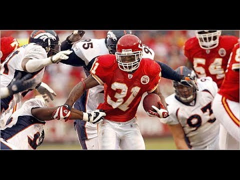 Forgotten Players: Priest Holmes (Madden 2005)