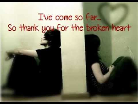 Thank you for the broken heart by J. Rice (Karaoke/Instrumental with lyrics)