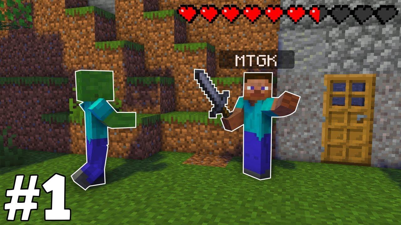 YENİ SERİ! - Minecraft Survival Bölüm #1