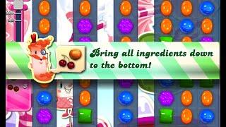 Candy Crush Saga Level 487 walkthrough (no boosters)