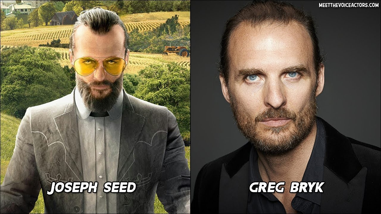Far Cry 5 Characters Voice Actors Youtube