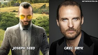 Far Cry 5 Characters Voice Actors