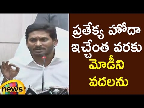 AP CM YS Jagan Controversial Comments About AP Special Status | Jagan Press Meet | Mango News