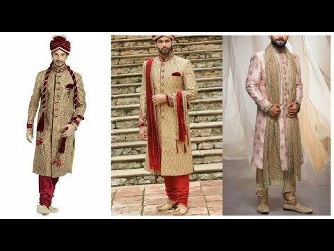 Latest Indian Sherwani Designs || Best Dulha Wedding Dresses Designs Collection - 2019