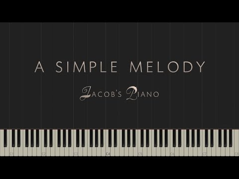 A Simple Melody - Original Piece \\ Synthesia Piano Tutorial