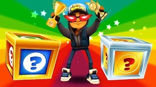 SUBWAY SURFERS Gameplay Fullscreen HD - Jake And 9999 Mystery Boxes Opening