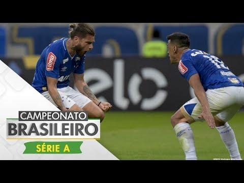 Melhores Momentos - Cruzeiro 2 x 0 Coritiba - Campeonato Brasileiro (25/06/2017)