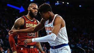 "NBA ""Bullying"" Moments"