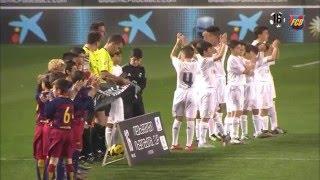FCB Masia: L'Aleví A guanya el MIC 2016 derrotant el Reial Madrid a la final (2-0)