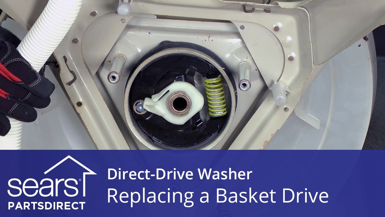 How to Replace a DirectDrive Washer Basket Drive Kenmore