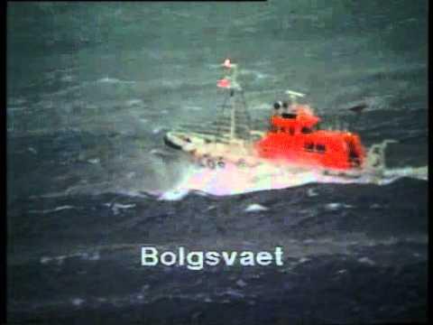 Kristiansund nyttårstormen1992
