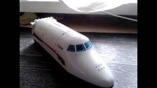 обзор пенала в виде самолёта из лего