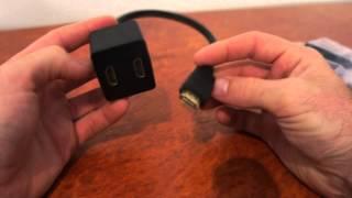 Hdmi Splitter - Send Hdmi signal to two TVs