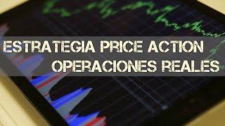 Estrategia de Price Action en Forex (trading en 15 minutos y 1H en cuenta real) | Winpips