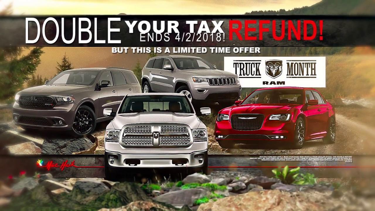 Mac Haik Dodge Chrysler Jeep Ram - Truck Month 2 - YouTube