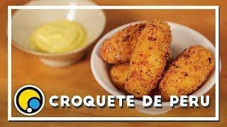 Como fazer receita de Croquete de Peru - Renato Carioni