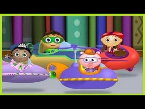 Attack of the Eraser - A Comic Book Adventure - Super Why Games - PBS Kids