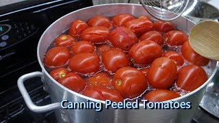 Italian Grandma Makes Canned Peeled Tomatoes