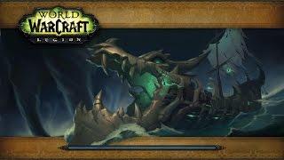 WoW Legion PVE: Resto Druid Gameplay - Maw of Souls Dungeon Walkthrough