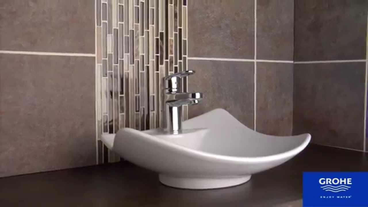 Grohe 33170002 Europlus Bathroom Centerset Faucet - YouTube