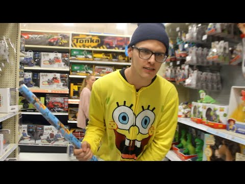 Outtakes - Man in Spongebob Onesie Throws FIT