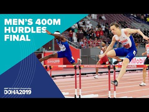 Men's 400m Hurdles Final | World Athletics Championships Doha 2019