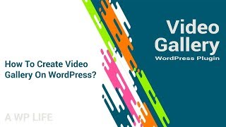 Video Gallery Wordpress Plugin - How To Create Video Gallery On WordPress