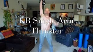 KB Singel Arm Thruster Demo