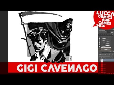 [Lucca Comics & Games] Showcase 2014: Gigi Cavenago