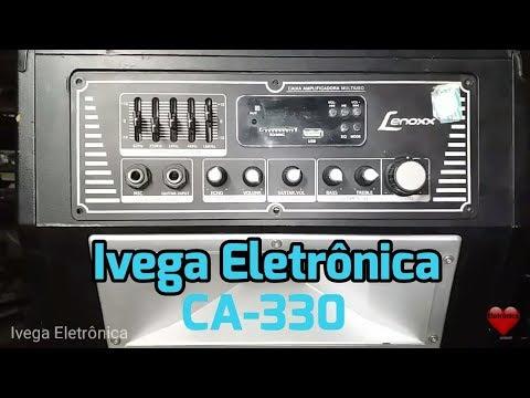 Caixa Lenoxx CA-330 sem som, trocando saída TDA8954th