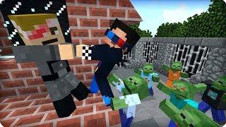 На волоске от смерти! [ЧАСТЬ 12] Зомби апокалипсис в майнкрафт! - (Minecraft - Сериал)
