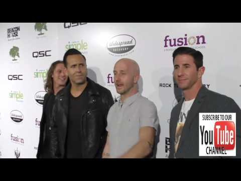 Wes Geer and Rock To Recovery Band arriving to Rock For Recovery at the Fonda Theatre in Hollywood