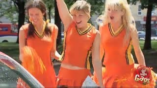Hot Cheerleaders Prank