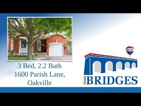 SOLD | Parish Lane | *HOUSES FOR SALE IN OAKVILLE* | TEAM BRIDGES - OAKVILLE REAL ESTATE