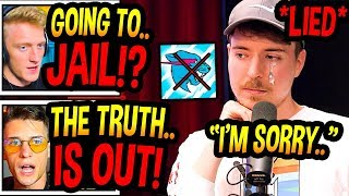 """Streamers *SHOCKED* After MrBeast *APOLOGIZES* For """"ABUSING"""" His Editors! (Emotional..) Fortnite BR"""