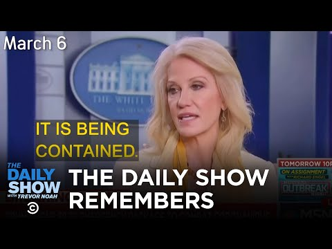 Remembering When Coronavirus Was Contained | The Daily Show