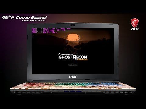 How Smooth Does it Run? Running Ghost Recon Wildlands on MSI GE62 7RE Camo Squad Limited Edition