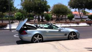 Mercedes SL 55 AMG - V8 Kompressor - 550 PS - 800 Newtonmeter Gran Canaria