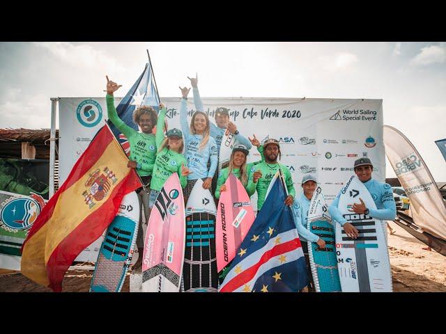 GKA KITE-SURF WORLD CUP   CAPE VERDE 2020   WAVE FINALS AT KITE BEACH