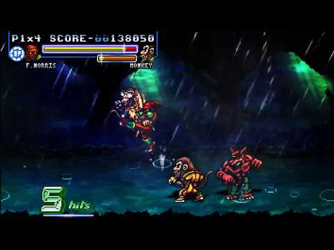Fight'N Rage - 1 Credit Clear, Ending B